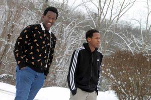 2 high school students